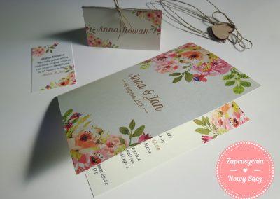 WZÓR K1 - Herbaciane róże