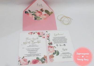 WZÓR K12 - Różany ogród