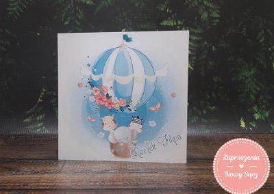 WZÓR J14 - Niebieski balon