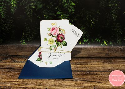 WZÓR K14 – Simple roses