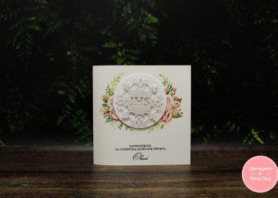 WZÓR 3D25 - Hostia w różach