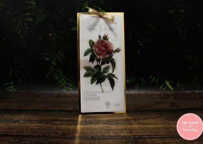 WZÓR K27 - Pastelowa róża