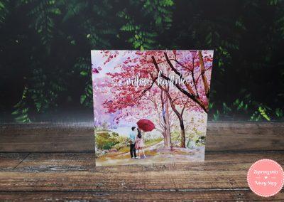 WZÓR P54 - Miłość kwitnie