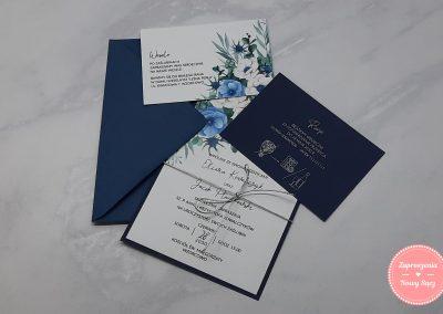 WZÓR K42 - Anemone (niebieski)