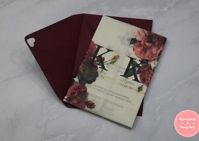 WZÓR K57 - Różane ornamenty
