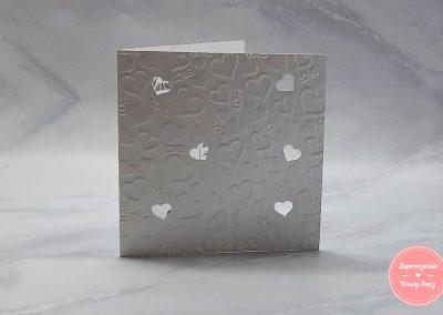 WZÓR E14 - Love tłoczone