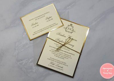 WZÓR E21 - Ornamenty (złote)