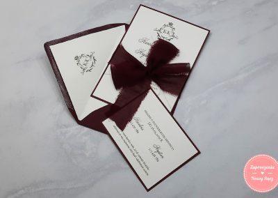 WZÓR E23 - Ornamenty (z ręcznie rwaną tasiemką)