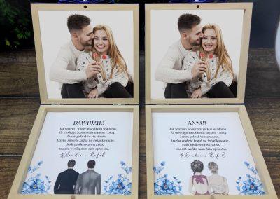 """Pudełko - zapytanie dla świadków ze zdjęciem """"DL Love letter"""""""