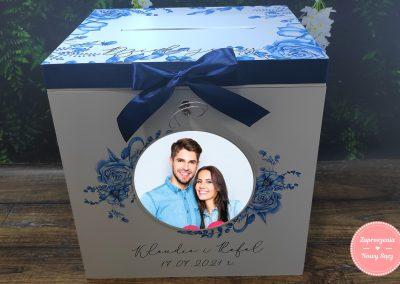 """Drewniane pudełko na koperty """"DL Love letter"""""""
